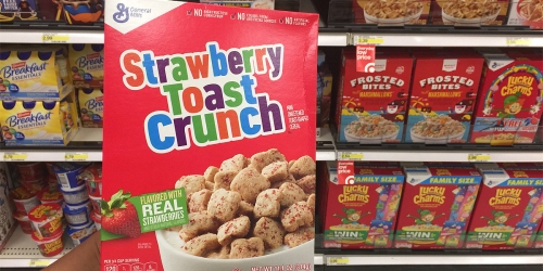 Target: Strawberry or Blueberry Toast Crunch Cereal Only 49¢ Per Box (Regularly $2.99)