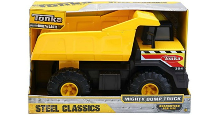 Tonka Classic Steel Mighty Dump Truck Only $14 39 (Regularly