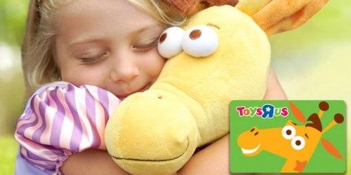 $100 ToysRUs eGift Card Just $92