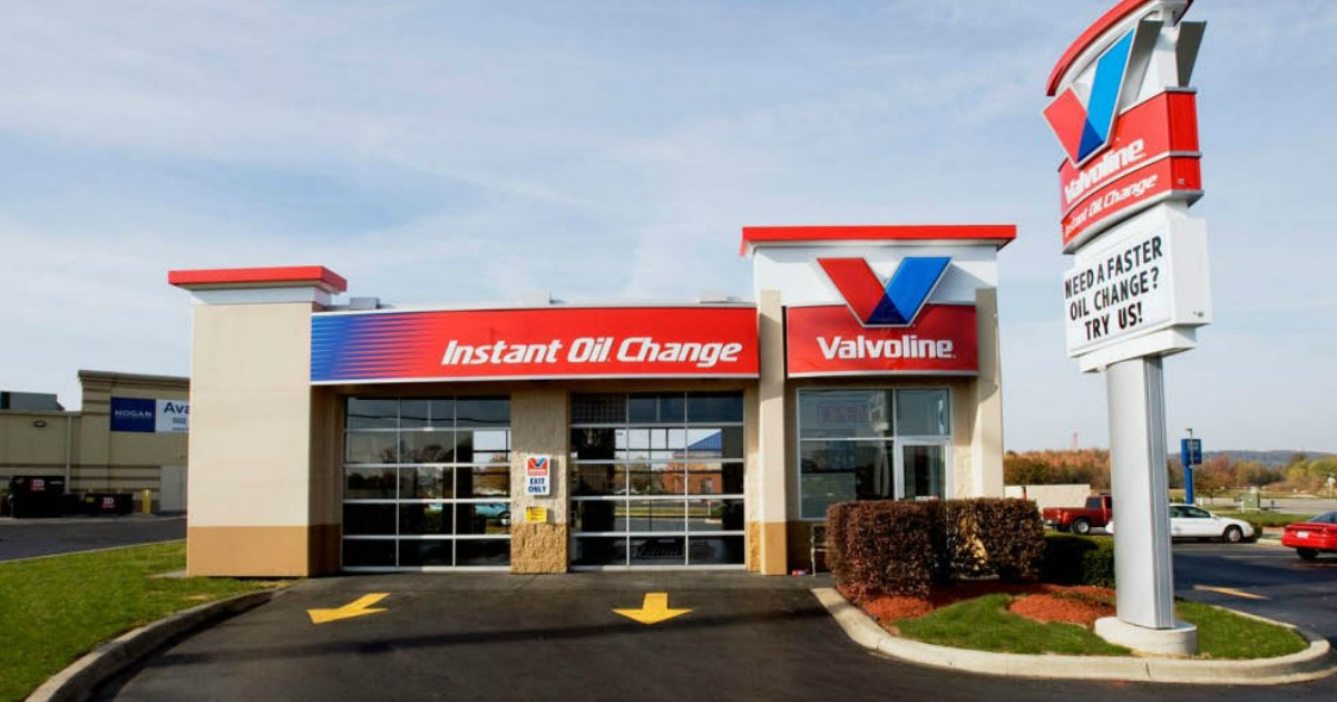 graphic relating to Valvoline Instant Oil Change Coupons Printable identify Valvoline Comprehensive-Support Oil Variation Basically $19.99 or $15