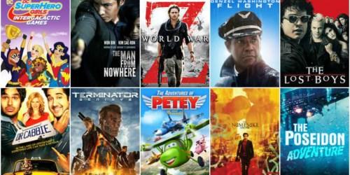 VUDU: 10¢ Movie Rentals ( The Lost Boys, World War Z, Flight, Rango, & MORE)