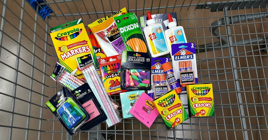 Walmart School Supply Deals 7 Elmers Glue Sticks 2 Pack More