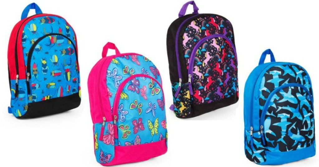 Walmart: One Size Fits All Backpacks ONLY $2 47 & More