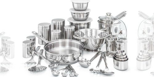 Wayfair: 36-Piece Old Dutch Kitchen in a Box Stainless Steel Cookware Set Only $53.22 Shipped