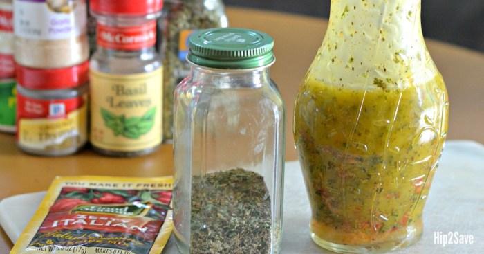 FIVE Favorite Homemade Seasonings & Cooking Mixes