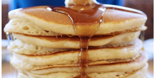 FIVE Silver Dollar Pancakes Only 50¢ at Denny's | Today Until 9PM Only