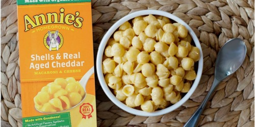 Amazon Prime: Annie's Organic Shells Mac & Cheese 12-Pack Only $6.29 Shipped (52¢ Per Box)