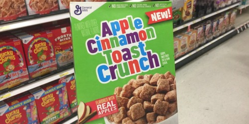 Target: General Mills Apple Cinnamon Toast Crunch Cereal Only 99¢ (After Ibotta)