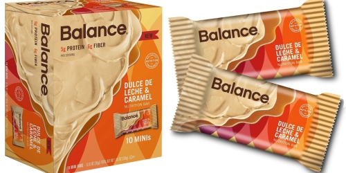 Amazon: Balance Bar Minis 10-Count Box Only $2.11 Shipped (Just 21¢ Per Mini Bar)