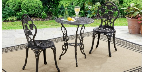 Better Homes and Gardens 3-Piece Bistro Set Only $66.47 Shipped (Regularly $129)