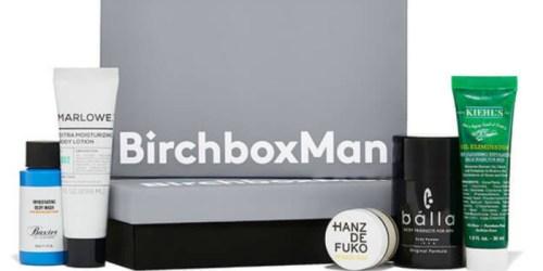 BirchboxMan Grooming Box Only $10 Shipped