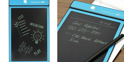 Amazon: Boogie Board LCD Writing Tablet Only $17.99 (Sketch, Write & Draw) & More