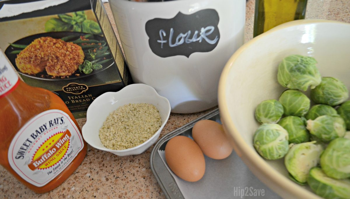 buffalo brussels sprout recipe