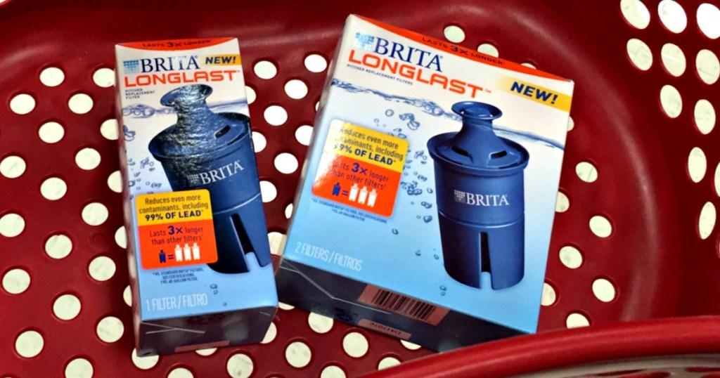 target shoppers! 40% off brita longlast filters - hip2save