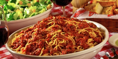 Buca di Beppo: FREE Small Pasta When You Sign Up for eClub (Serves 2 to 3)