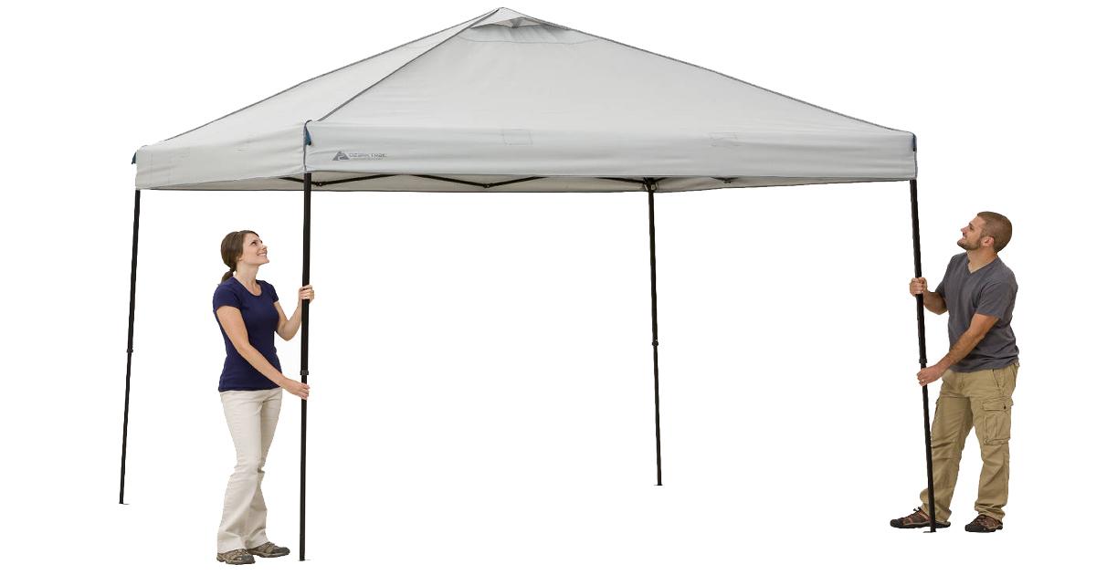 Walmart Ozark Trail 10 X 10 Instant Canopy Only 59