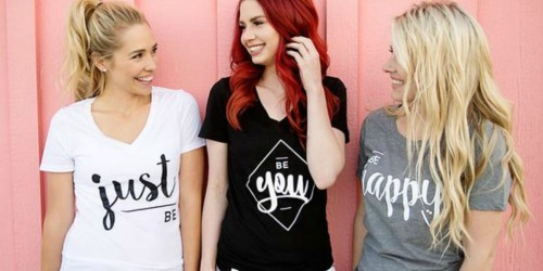 Fun Graphic T-Shirts 2 for $25 Shipped (Just $12.50 Each)