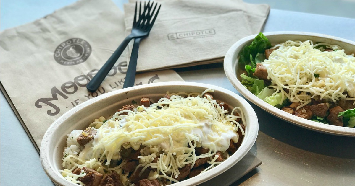 22 college student discounts & freebies – Chipotle bowls