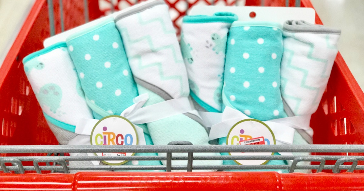 Target Circo Hooded Bath Towel 3 Packs Possibly Only 6