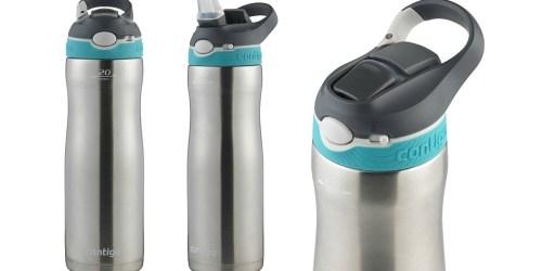 Amazon: Contigo Autospout Stainless Steel 20oz Water Bottle Just $11.44 (Regularly $20)