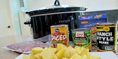 Crock-Pot Cowboy Supper (Easy Weeknight Meal idea)
