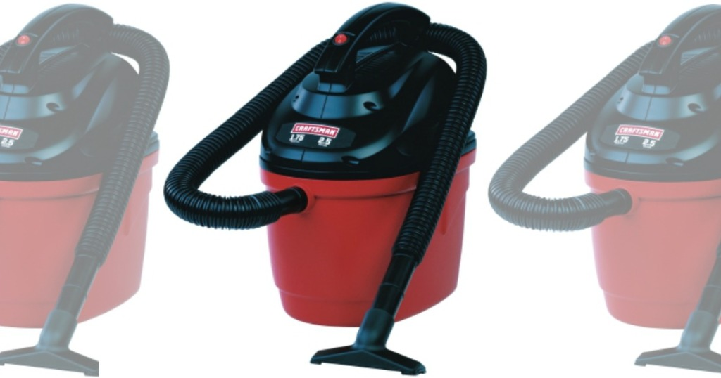 Ace Hardware: Craftsman 2.5 Gallon Wet/Dry Vac Only $19.99