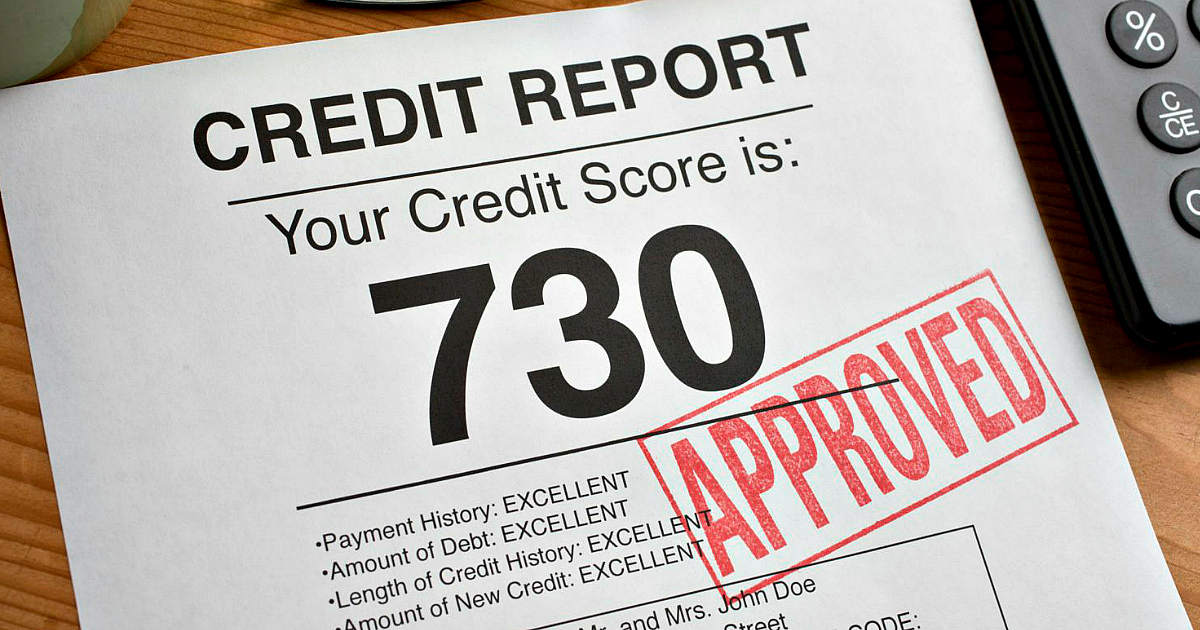 Credit report finding example