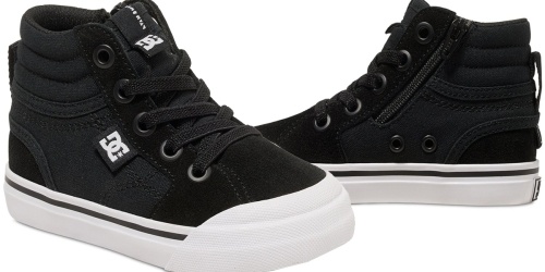 DC Shoes: Extra 40% Off Sale Items = Toddler Hi Top Sneakers Only $12.59 (Regularly $40) & More