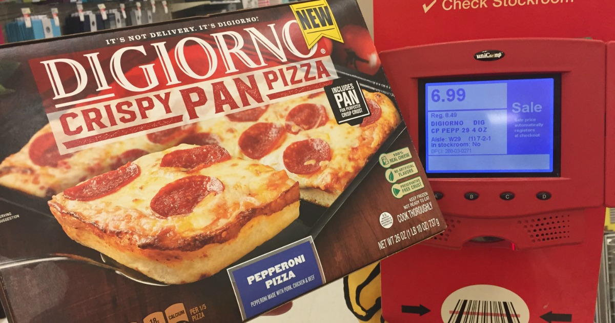 photograph relating to Digiorno Pizza Coupon Printable titled Superior Significance $2/1 DiGiorno Crispy Pan Pizza Coupon - Hip2Preserve