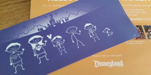 FREE Personalized Disney Family Decal