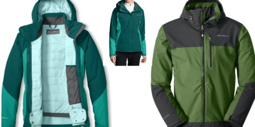Eddie Bauer Adult Insulated Jackets Starting at $54.99 Shipped (Regularly $199+)