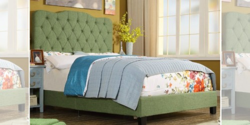 Upholstered Twin Panel Bed Just $183.99 Shipped (Regularly $699.99)