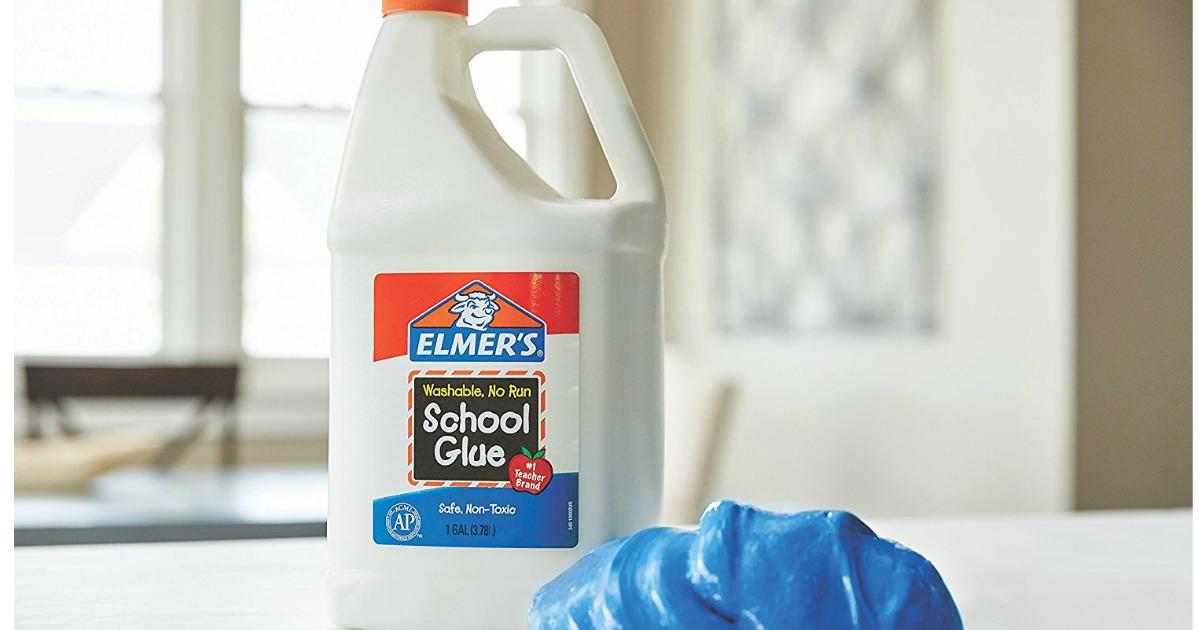 Elmer S Liquid School Glue 1 Gallon Only 9 71 Shipped