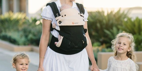 Ergobaby 360 All Carry Positions Ergonomic Baby Carrier Only $124.98 Shipped (Regularly $180)