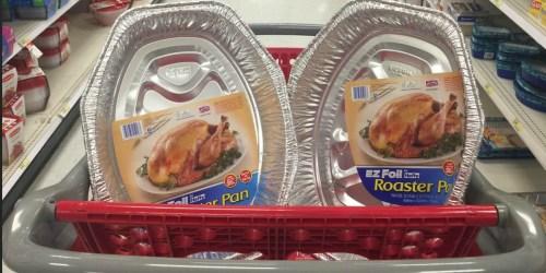 Rare $1/2 EZ Foil Pans Coupon + Target Deals