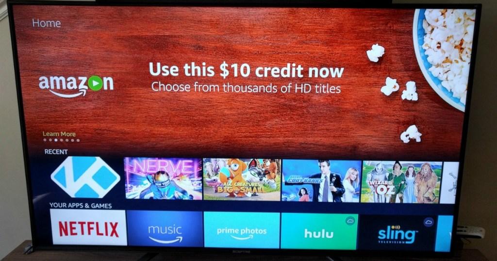 Amazon Fire Stick + $10 Movie Credit = Free Movies