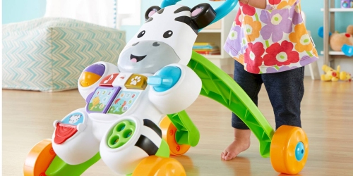 Fisher-Price Learn w/ Me Zebra Walker Only $16.86 (Regularly $25) – Awesome Reviews