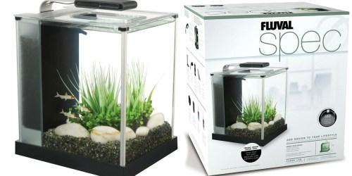 Petco: Fluval 2.6 Gallon Glass Aquarium Kit Only $49.99 Shipped – Great Reviews