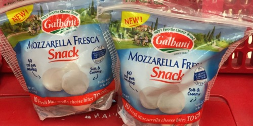 New Galbani Snacking Cheese Coupon = Up to 50% Savings After Target Gift Card