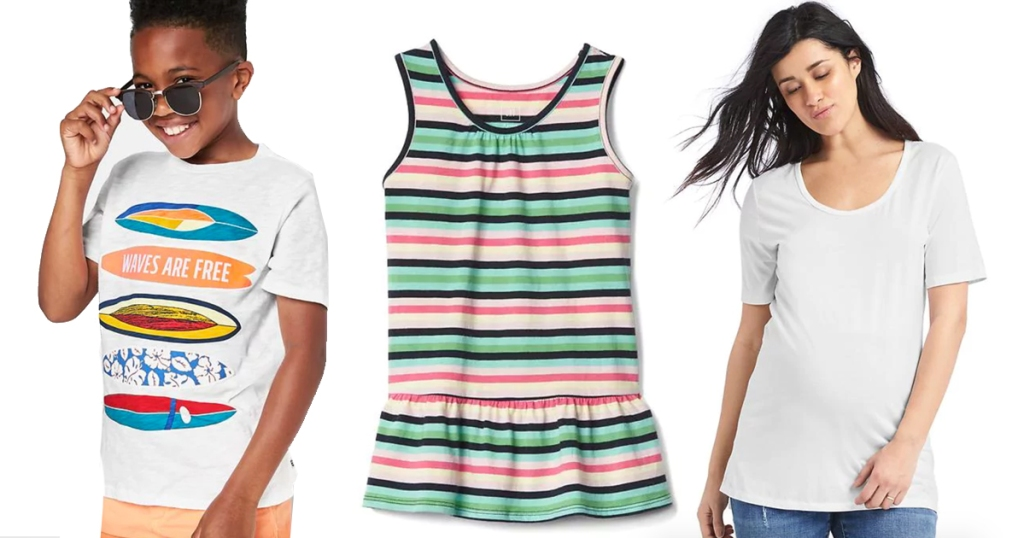 428f31cf21 GAP  Extra 50% Off + Free Shipping   Maternity Tanks   Tees Only ...