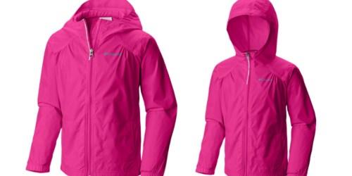 REI Garage: Girls' Columbia Rain Jacket Only $17.38 (Regularly $45)