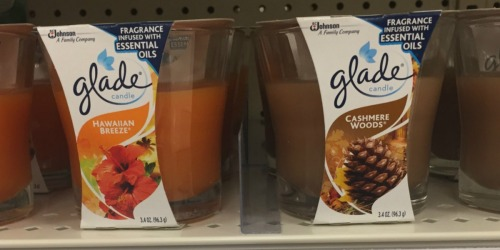 5 New Glade Air Freshener Coupons = Jar Candles Just $1.95 Each at Target