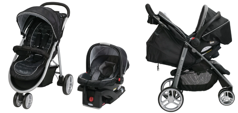 Amazon: Graco Aire3 Click Connect Travel System Only $154 ...