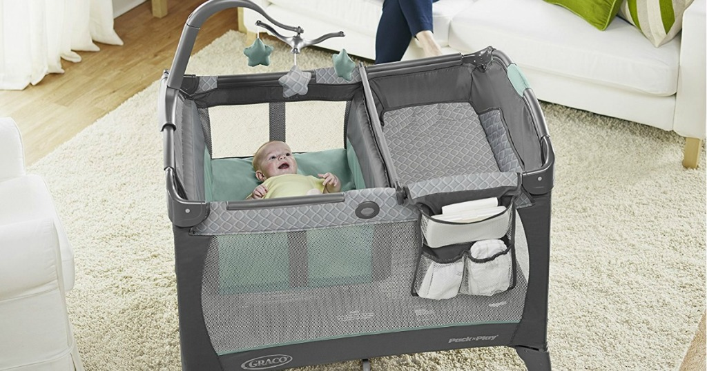 Walmart.com: Graco Pack 'n Play with Change 'n Carry ONLY ...
