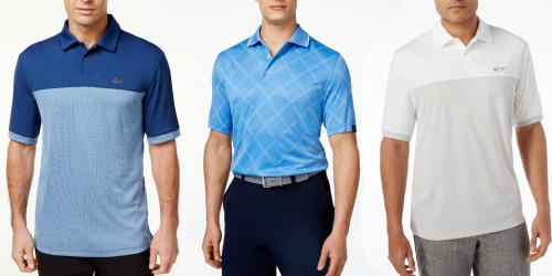 Macy's: Men's Performance Sun Protection Golf Polos Just $6.96 (Regularly $55)