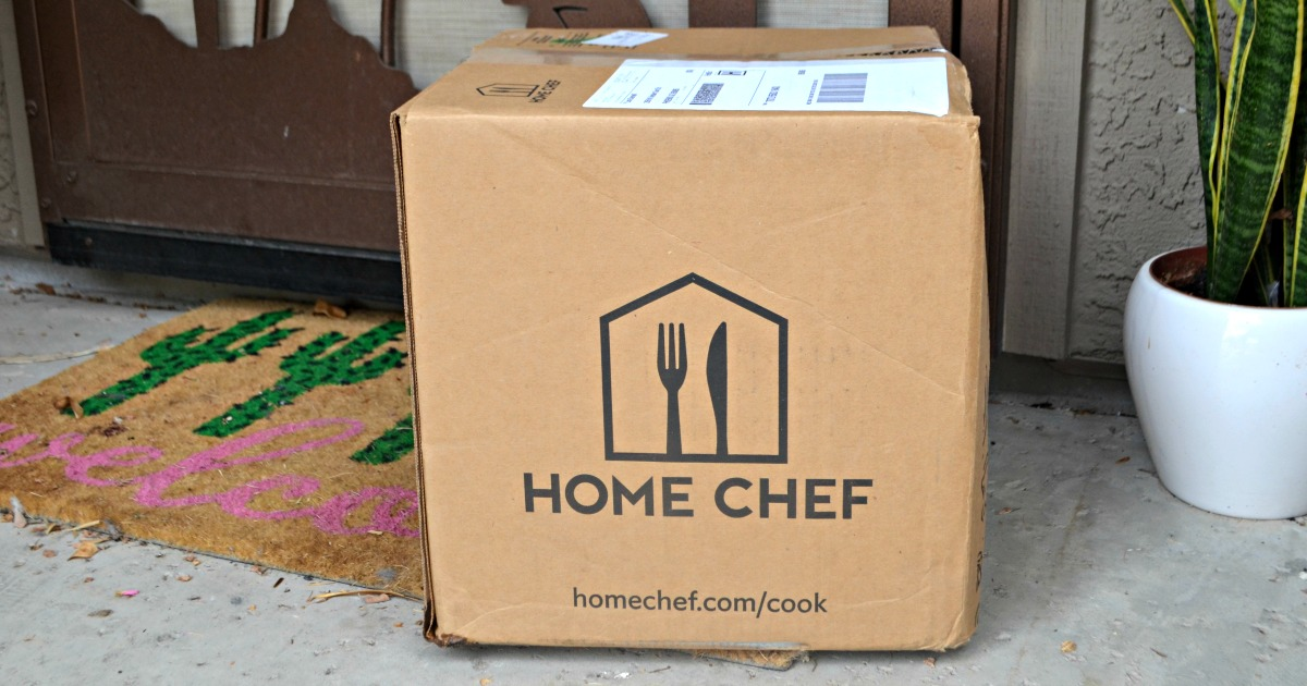 Easy Home Chef Meal Subscription Box Meals – Box on the doorstep