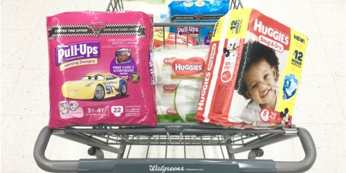 Walgreens Shoppers! Save BIG on Huggies Diapers, Wipes & Pull-Ups!