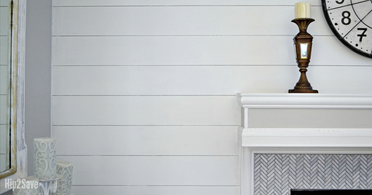 Love Shiplap Walls How To Diy The Look For Less