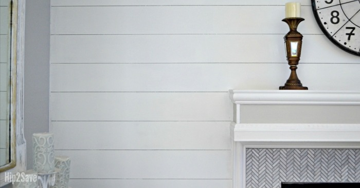 Love Watching Fixer Upper? Love Shiplap Walls? How to DIY the Look for Less!