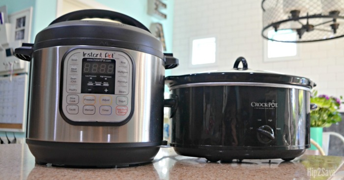 Instant Pot Versus Crock-Pot